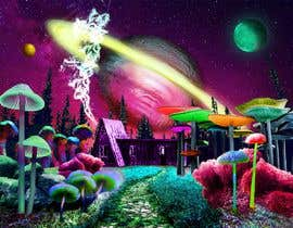 #42 untuk Create Fantasy / Psychedelic 3D Scene Landscape Artwork oleh Plurinx