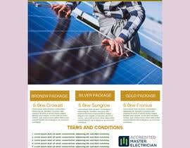 #61 for Solar Advertisement af azharart95