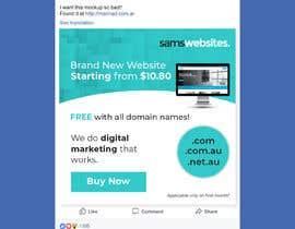 #6 for Web Design Ads for Facebook af becretive