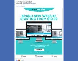 #7 for Web Design Ads for Facebook af becretive