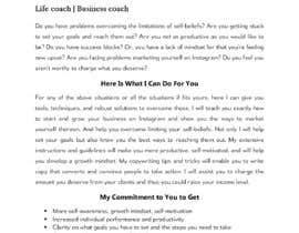 Nro 21 kilpailuun I need a highly engaging sales page for my coaching business. käyttäjältä muradutjaman