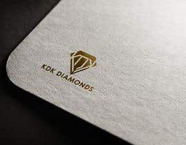 Nro 34 kilpailuun Logo Design for KDK Diamonds käyttäjältä lanjumia22