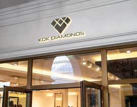 Nro 156 kilpailuun Logo Design for KDK Diamonds käyttäjältä mdgolamzilani40