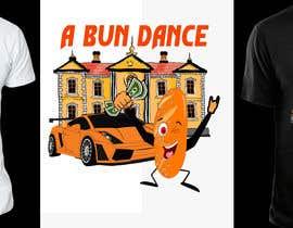 #9 untuk A Bun Dance Graphic Design T-Shirt oleh shatabdi3626