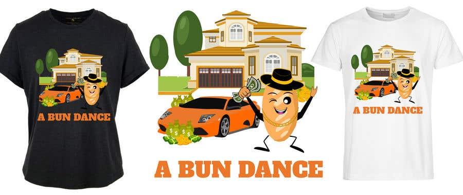Bài tham dự cuộc thi #                                        40                                      cho                                         A Bun Dance Graphic Design T-Shirt