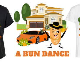 #40 untuk A Bun Dance Graphic Design T-Shirt oleh shatabdi3626