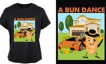 Bài tham dự #41 về Graphic Design cho cuộc thi A Bun Dance Graphic Design T-Shirt