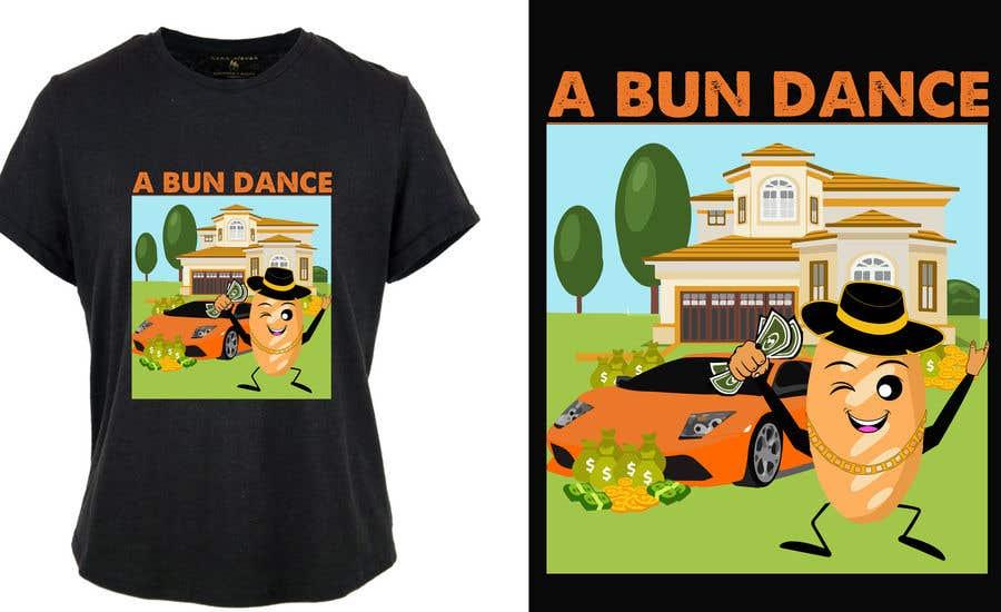Bài tham dự cuộc thi #                                        41                                      cho                                         A Bun Dance Graphic Design T-Shirt