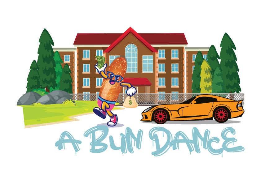 Bài tham dự cuộc thi #                                        42                                      cho                                         A Bun Dance Graphic Design T-Shirt