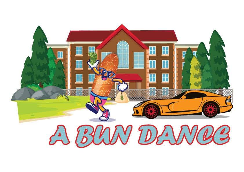 Bài tham dự cuộc thi #                                        43                                      cho                                         A Bun Dance Graphic Design T-Shirt