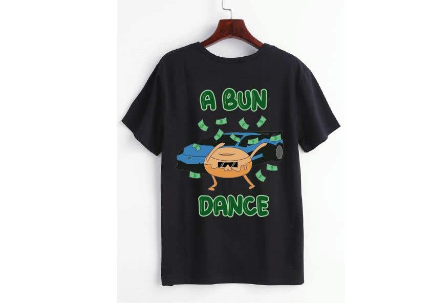 Bài tham dự cuộc thi #                                        46                                      cho                                         A Bun Dance Graphic Design T-Shirt
