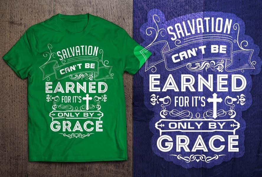 Konkurrenceindlæg #                                        11                                      for                                         Design a T-Shirt for Salvation grace
