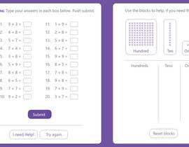 Nro 24 kilpailuun Contest - Redesign 1 page Math Sheet käyttäjältä WonoMe