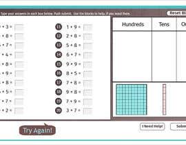 Nro 26 kilpailuun Contest - Redesign 1 page Math Sheet käyttäjältä Sumaakter98858