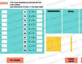 Nro 14 kilpailuun Contest - Redesign 1 page Math Sheet käyttäjältä claracerioni91