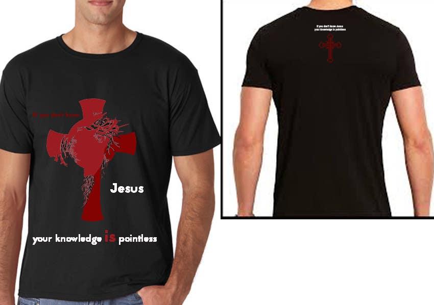 Konkurrenceindlæg #6 for Design a T-Shirt for Knowing Jesus