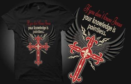 Nro 1 kilpailuun Design a T-Shirt for Knowing Jesus käyttäjältä murtalawork