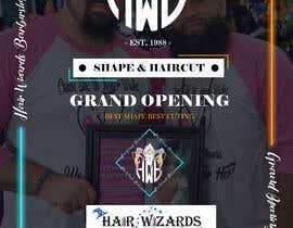#18 for Grand Opening Barbershop af arghyab43