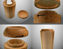 #28 pentru Re-designing the champagne bottle cork de către deeps831