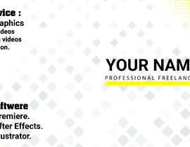 #35 for I need profissional banner for my cover photo in freelancer website by shantonusaha3