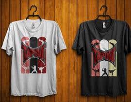 #25 for Modern T-shirt Design. Wrestling and Karate theme! by durjoyraj26