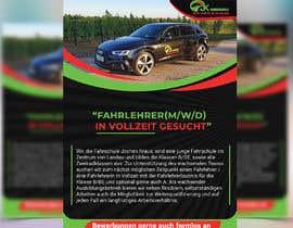 #132 für Poster for job advertisement for a driving school - 14/04/2021 08:18 EDT von Arif441