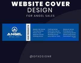#21 for 1 Page Website Cover Design - Angel Sales af gfxdsignr