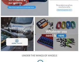 #29 for 1 Page Website Cover Design - Angel Sales by rajaumeda123