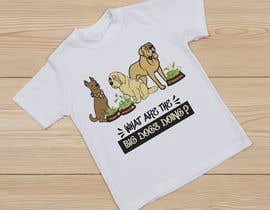 #40 for What are the BIG Dogs doing? Illustration T shirt Design by Mist3rHabib