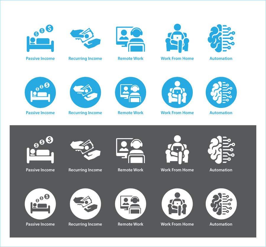 Konkurrenceindlæg #                                        9                                      for                                         Design 5 icons
