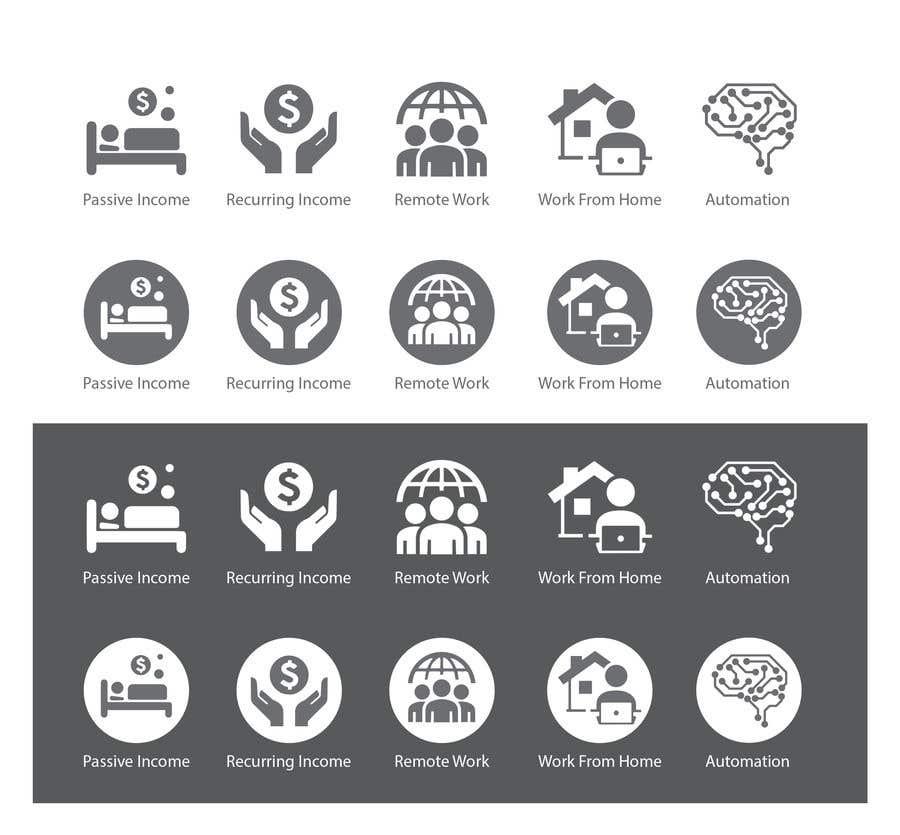 Konkurrenceindlæg #                                        19                                      for                                         Design 5 icons