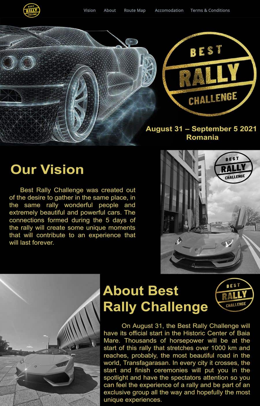 Contest Entry #                                        15                                      for                                         Best Rally Challenge