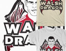 #6 for Design a T-Shirt inspired by Wales Footballers Gareth Bale and Aaron Ramsey Human/Dragon Hybrid af Fayeds