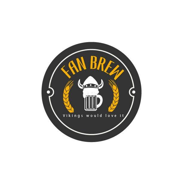 Kilpailutyö #15 kilpailussa Design et retro logo for small brewery