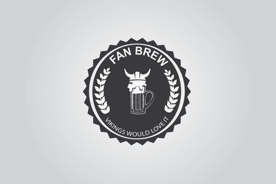 Kilpailutyö #17 kilpailussa Design et retro logo for small brewery
