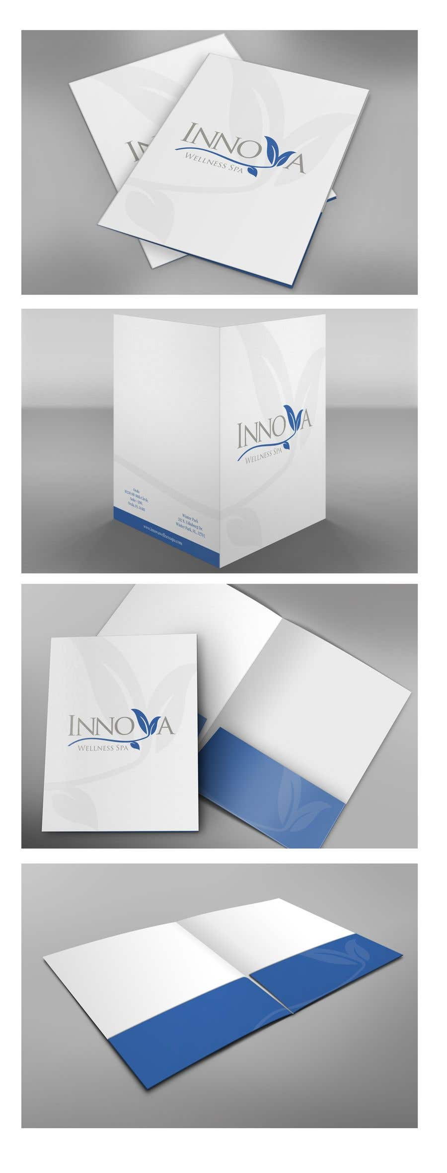 Contest Entry #                                        5                                      for                                         Design a Folder for a high end medical spa