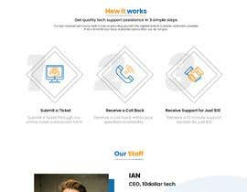 #104 untuk Website rebuild 2 page site with contact form (Computer Support business) oleh mdrahad114