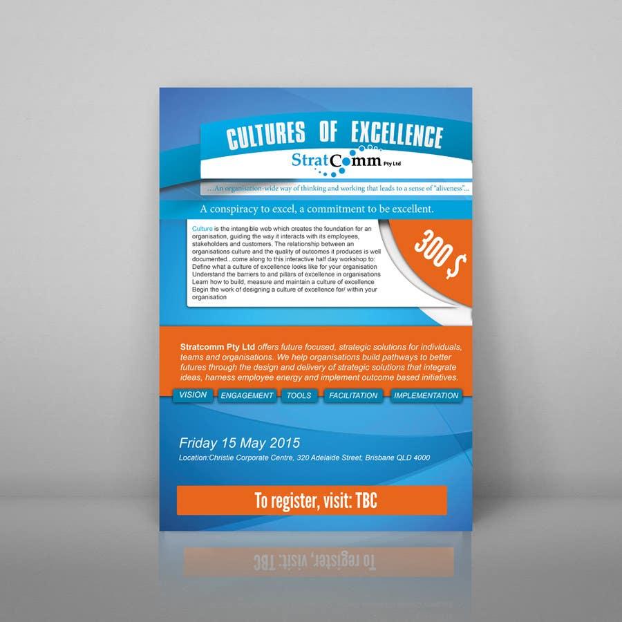 Bài tham dự cuộc thi #12 cho Design a corporate workshop flyer