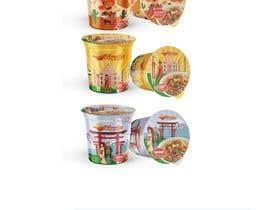 #340 for Logo and noodle cups design af farizibnus