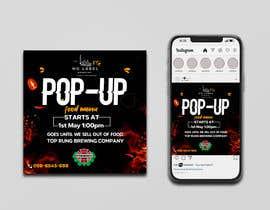 #132 untuk Advertisement for a pop-up oleh Julfikarsohan