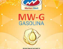 horon99design tarafından Design a front and back label for MW (fuel additive) için no 92