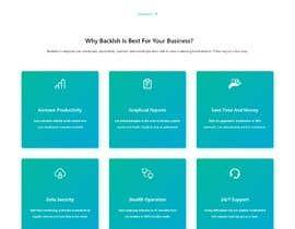 Rajumullah100 tarafından Time-Tracking Software landing page web design için no 6