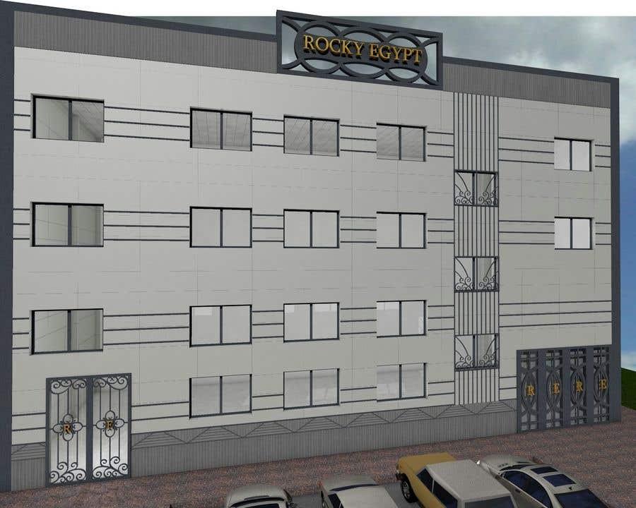 Konkurrenceindlæg #                                        12                                      for                                         Factory facade design with 3D