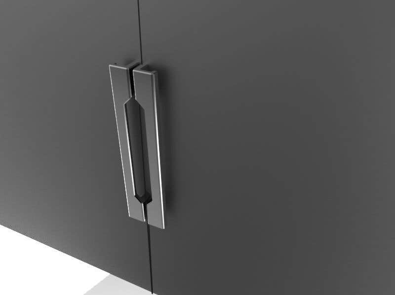 Proposition n°                                        78                                      du concours                                         Tall Aluminum Handles for Openable or Sliding Wardrobes
