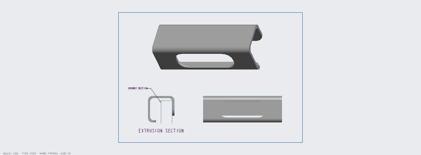 Proposition n°                                        18                                      du concours                                         Tall Aluminum Handles for Openable or Sliding Wardrobes