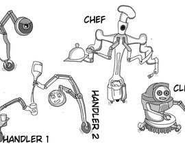 #52 cho Draw us 5 goofy robots bởi haacho31
