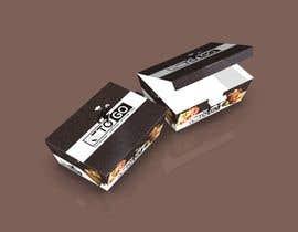 Nro 9 kilpailuun Create custom design for boxes for food delivery käyttäjältä pixellpack