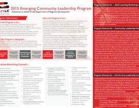 #3 for Design a Brochure for this program af acelobos9