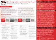 Photoshop Konkurrenceindlæg #4 for Design a Brochure for this program