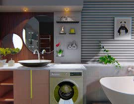 #33 for Bathroom 3d design by Drawplan